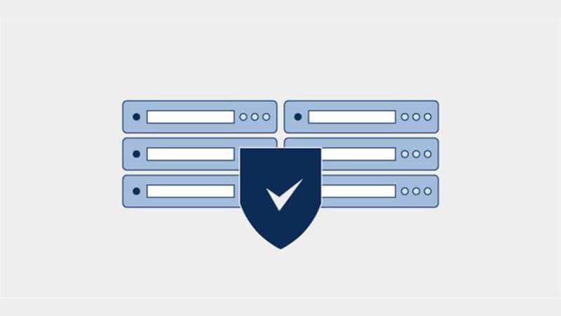Diagrama de seguridad del centro de datos físico